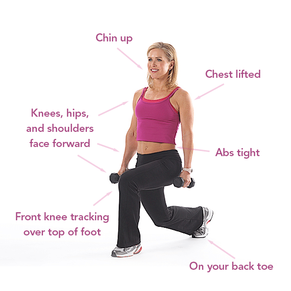 how to make lunging