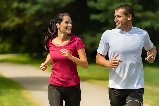running-couple